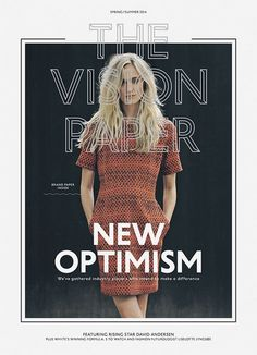The Vision Paper SS14 | Brunswicker — Designspiration