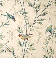 Little Greene London Wallpapers Great Ormond Street Parchment (45). Te combineren met de kleuren: 61 Pitcairn, 85 Kitchen Green, Papyrus. Patroonherhaling: 61 cm. Afwasbaarheid: Nat afneembaar.