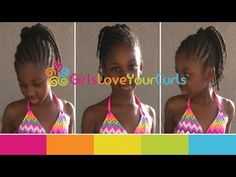 ♥ 46 ♥ Durable Protective Style for Natural Hair - Perfect for Vacations :) - YouTube