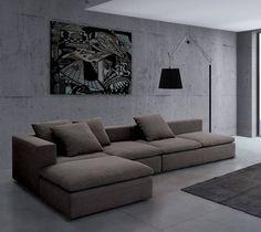Narożnik STONE - Narożniki - zdjęcia, pomysły, inspiracje - Homebook Corner Closet, Showroom, Couch, Bedroom, Inspiration, Furniture, Design, Home Decor, Living Rooms