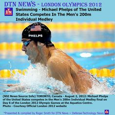 (NSI News Source Info) TORONTO, Canada - August 2, 2012: Michael Phelps of the United States competes in the Men's 200m Individual Medley final on Day 6 of the London 2012 Olympic Games at the Aquatics Centre.    Photo - Courtesy Official London 2012 w Admire fitness Exercises to lose weight http://www.joggingtoloseweight.org
