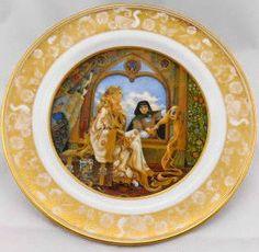 vintage Franklin Mint Limited Edition porcelain decorative Cat plate stamped