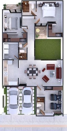 Amazing Top 50 House Floor Plans The price reach of the Apartment was amazing. Sims House Plans, House Layout Plans, Dream House Plans, Small House Plans, House Layouts, House Floor Plans, 40x60 House Plans, House Floor Design, Small House Design