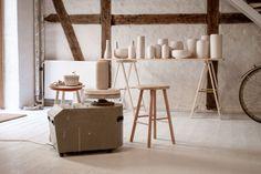 tortus copenhagen studio with pots