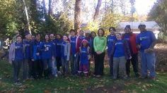 Booking.com cares. We planted trees, cleared invasive plants from our local natural habitat today. On top of this we got to meet the Mayor of Kirkland. What an amazing day.