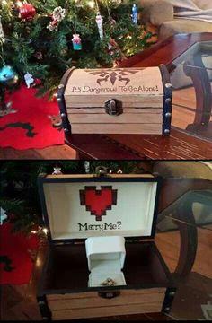Ultimate Nerdy Nintendo Proposal The Ultimate Nerdy Nintendo Proposal. I would die. and then cry. and then say yesThe Ultimate Nerdy Nintendo Proposal. I would die. and then cry. Wedding Proposals, Marriage Proposals, Nintendo, Geek Wedding, Dream Wedding, Wedding Ideas, Wedding Stuff, Wedding Rings, Wedding Poses