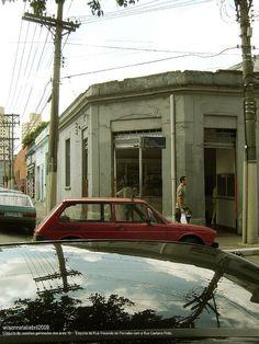 Rua Visconde de Parnaíba, esq. com a Caetano Pinto.