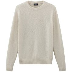Shortbread sweater ($410) ❤ liked on Polyvore featuring tops and sweaters