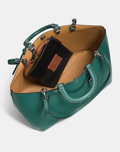 Coach Rogue Tote With Embellished Handle Alternate View 3