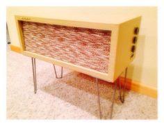 Vintage 1953 Amplified Extension Speaker by RetroModRadio on Etsy