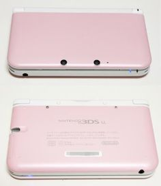 Japan's exclusive pink and white Nintendo 3DS LL! Not fair. Here's the unboxing: http://www.youtube.com/watch?v=tElgZacJANw