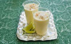 Smoothie med ananas och kokos