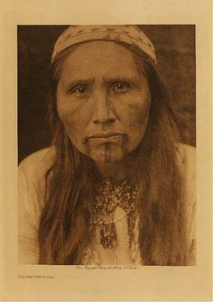 Tolowa (some are now part of the Siletz tribe)  photo by Edward Curtis (Native American, Indian, Oregon):