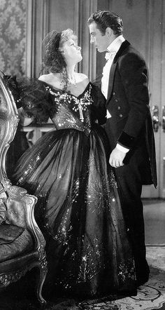"Greta Garbo and Robert Taylor, ""Camille"". MY PERSONAL FAVORITE GARBO MOVIE."