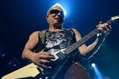 Scorpions on stage at the Zénith of Caen. The of April Quentin. Scorpions Live, Stage, Music Instruments, Guitar, Guitars, Musical Instruments