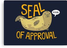 Seal Of Approval Premium Merchandise