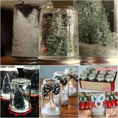 26+ Mason Jar Crafts for Christmas