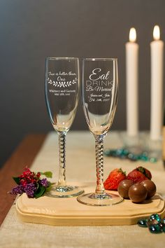 Personalized wedding favors and Anniversary parties
