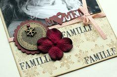 "Mini album ""Une famille en hiver"" ... - Le Scrap de Patmiaou Mini Album Scrapbook, Mini Albums Scrap, Scrapbooking, Gift Wrapping, Mini Mini, Gifts, Projects, Scrapbook Albums, Tutorials"