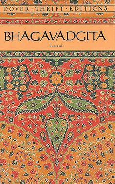 The beautiful Bhagavadgita ~ exploring the inner battle of life (consciousness vs. egos) which the Seeker attemps in his quest for liberation.  Great book full of insight and guidance on how to have the determination to overcome the illusions and temporary subconscious inner states that hold one back from spiritual progress.