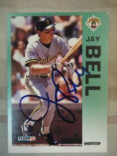 1992 Fleer #549 Jay Bell (In Person)