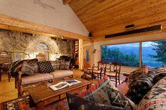 Mansion dream house: John Denver's Aspen Cabin #mansion #dreamhome #dream #luxury http://mansion-homes.com/dream/john-denvers-aspen-cabin/
