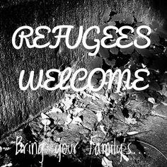 #REFUGESWELCOME - refugiados_bienvenidos
