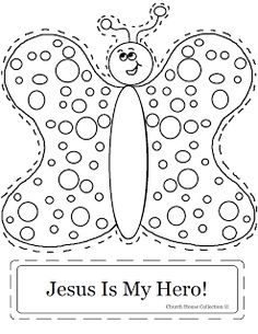 Church House Collection Blog: Bee-Mine Jesus Cutout Craft