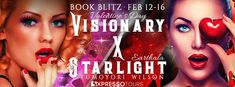 Tome Tender: Visionary X Starlight- Valentine's Day by Yumoyori...GIVEAWAY  $10 Amazon gift card Ends Feb. 22, 2018