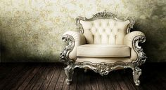 ❥ chair! Must find this for my office/library/writing room!