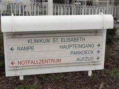 Ankunft am Klinikum St. Elisabeth Straubing