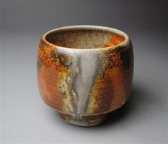 Tea Bowl Yunomi Wood Fired by JohnMcCoyPottery on Etsy, $45.00