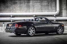 Rolls-Royce Phantom Drophead Coupe | Rolls Royce Phantom Drophead Coupe Nighthawk Rear Three Quarter Photo ...
