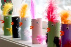 Billedresultat for påskepynt Craft Activities, Preschool Crafts, Fun Crafts, Diy And Crafts, Easter Crafts For Kids, Toddler Crafts, Diy For Kids, Arts And Crafts Box, Toilet Paper Roll Crafts