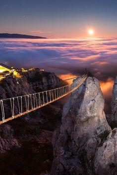 Mount Ai-Petri at Night, Crimea, Ukraine