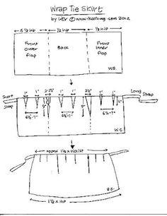 「wrap skirt pattern」の画像検索結果