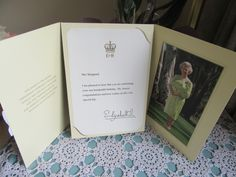 Day 26 ... 26/01 ... Letter from the Queen. Grandma turned 100 years old yesterday.
