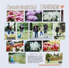 Colours of B: layout 12x12 Flowery garden
