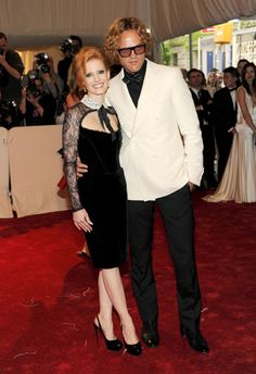 Jessica Chastain in Emilio Pucci F11 at the 'Alexander McQueen: Savage Beauty' Met Gala
