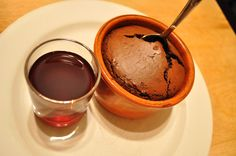 Mulled Port & Chipotle Chocolate Souffle - cold weather entertaining ...