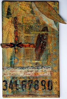 The Altered Page: wonderful layered art