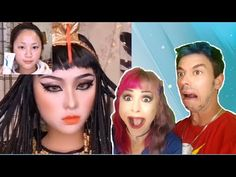Hay Guys this is a much watch. See me and my hubby react to the craziest Asian makeup transformations. Hope You Guys Enjoy Remember to leave a Like and Comme. Makeup Tutorial Eyeliner, Easy Makeup Tutorial, Makeup Tutorial For Beginners, Asian Makeup Tutorials, Makeup Tips, Eye Makeup, Asian Makeup Transformation, Asian Makeup Prom, Joker Art
