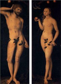 Adam and Eve - Lucas Cranach the Elder