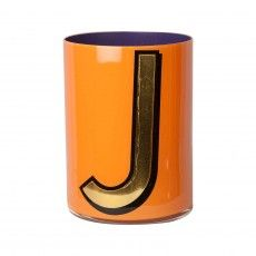Alphabet Brush Pot - J