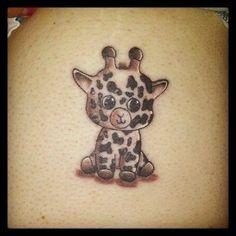 My cute giraffe tattoo | Tattoos | Pinterest | Too cute Love this and ...