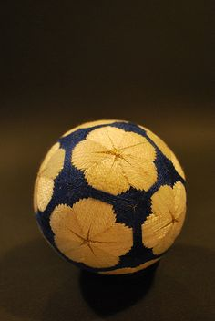 temari - the art of Japanese thread balls. Traditionally given as a gift.