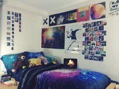 Image of: hipster room design ideas Indie Bedroom Decor, Hipster Room Decor, Trendy Bedroom, Girls Bedroom, Girl Room, Tomboy Bedroom, Fairy Bedroom, Cozy Bedroom, West Elm