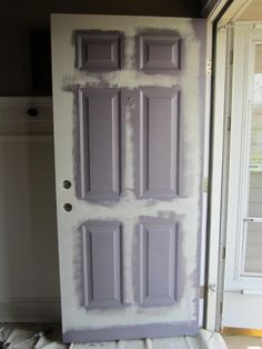 because I used this tutorial to paint my front door and it came out great! Front Door Makeover - really good tutorialthis because I used this tutorial to paint my front door and it came out great! Front Door Makeover - really good tutorial Painting Tips, House Painting, Painting Walls, Watercolor Painting, Home Renovation, Home Remodeling, Front Door Makeover, Front Door Colors, Interior Exterior