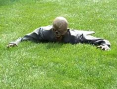 Undead Garden Ornaments - The RC Crawler is the World's Best Halloween Decoration (VIDEO)