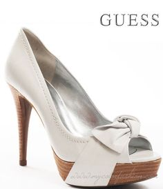 Guess Shoes Chief - White Leather